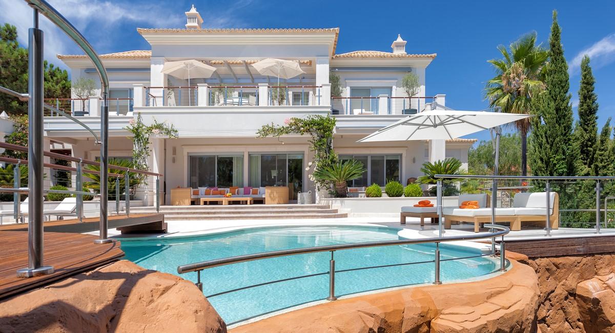 Luxury 5 Bedroom Villa With Tennis Court To Rent In Quinta Do Lago Villa Angelite Regency Luxury Villas MG 0051