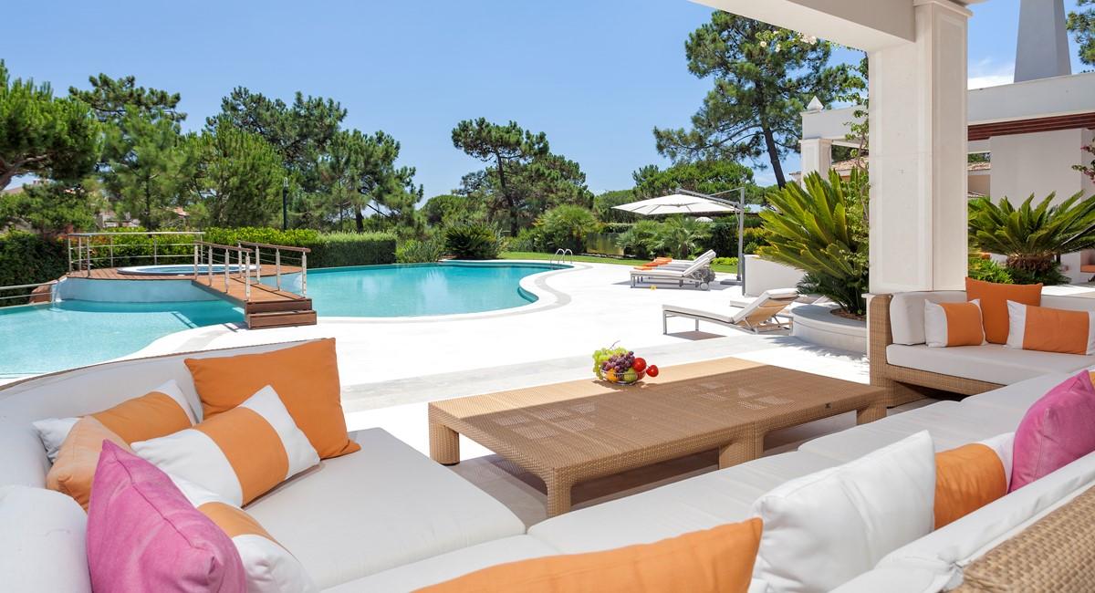 Luxury 5 Bedroom Villa With Tennis Court To Rent In Quinta Do Lago Villa Angelite Regency Luxury Villas MG 0133