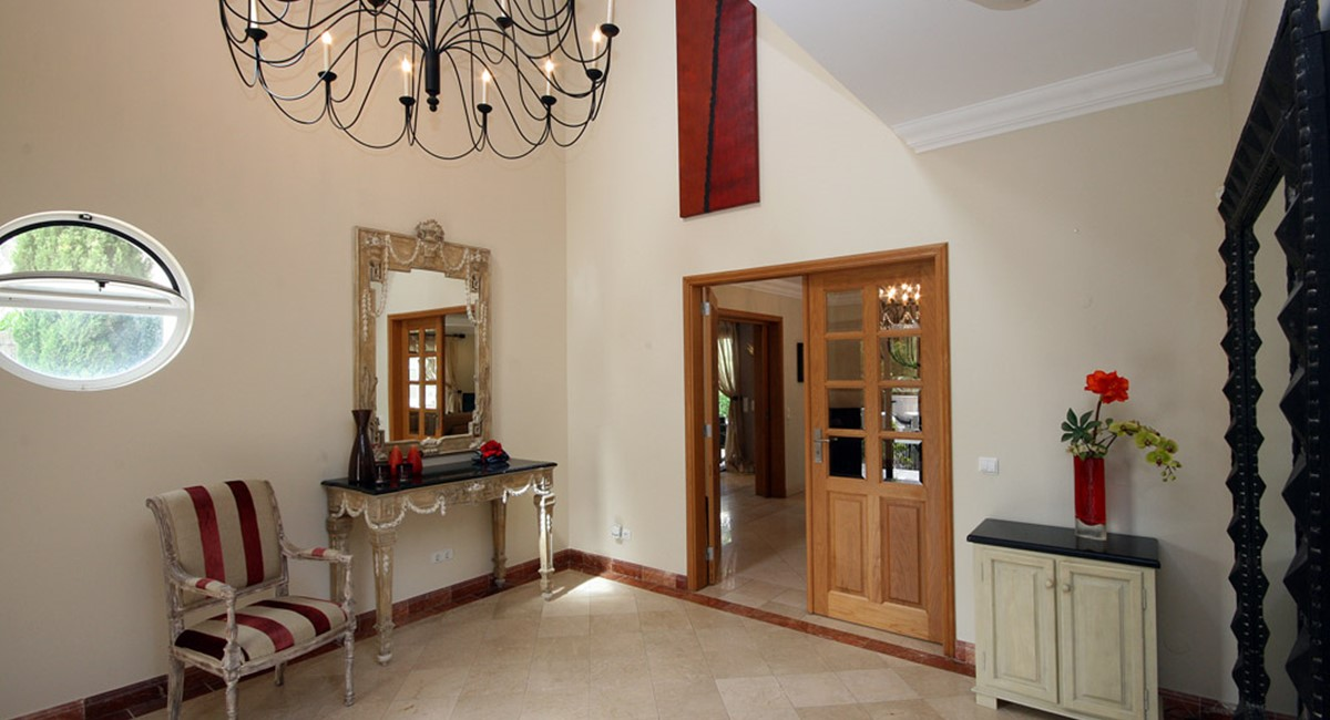 Quinta Do Lago Luxury Villa Entrance Hall