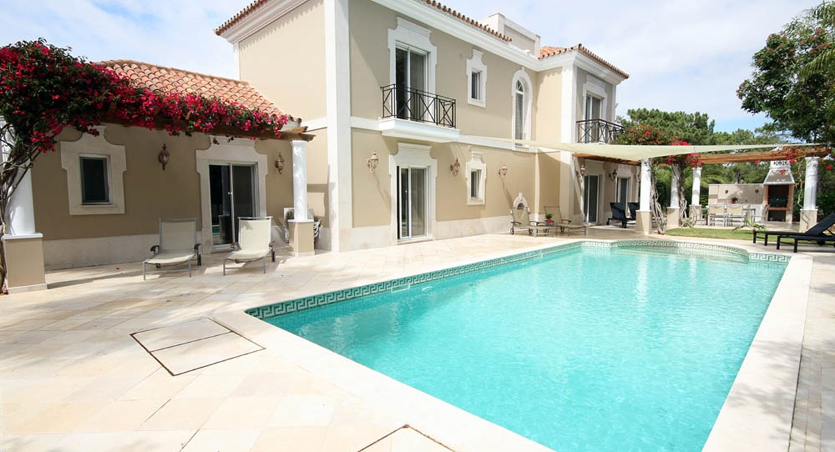 Quinta Do Lago Luxury Villa Pool Terrace