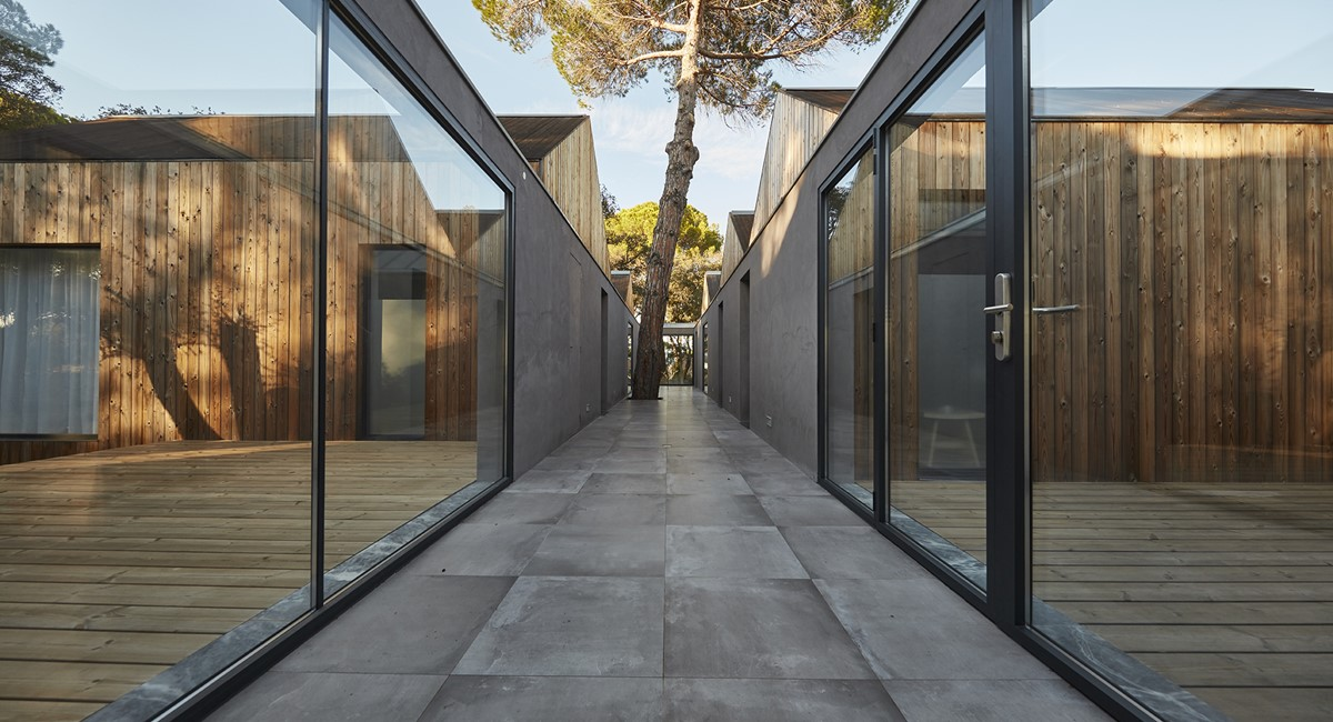 Villa Interior Corridor Sublime Comporta 3406 LR