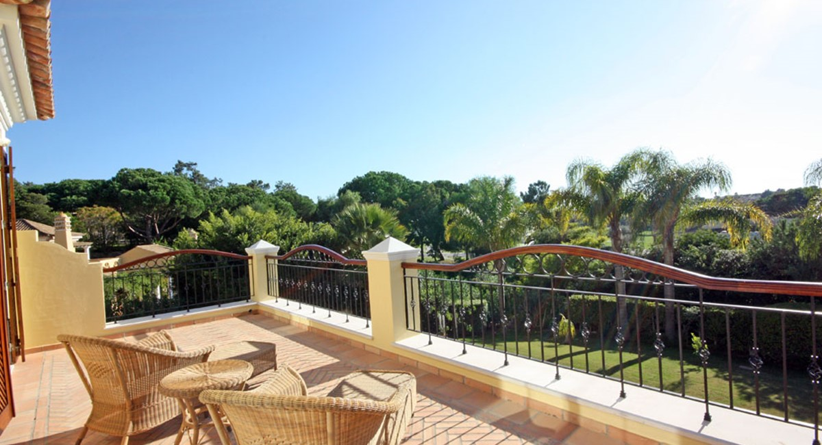 Pinheiros Altos Luxury Holiday Sun Terrace
