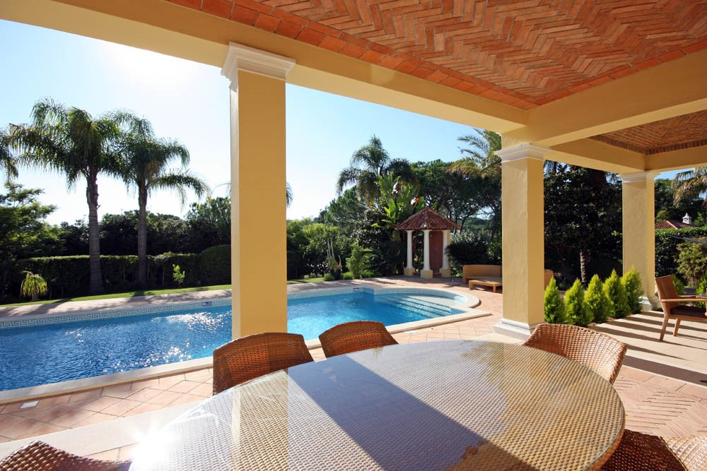 Pinheiros Altos Luxury Holiday Villa Pool Terrace