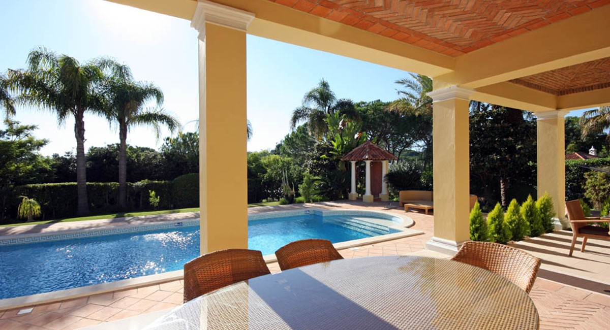 Pinheiros Altos Luxury Holiday Villa Pool Terrace