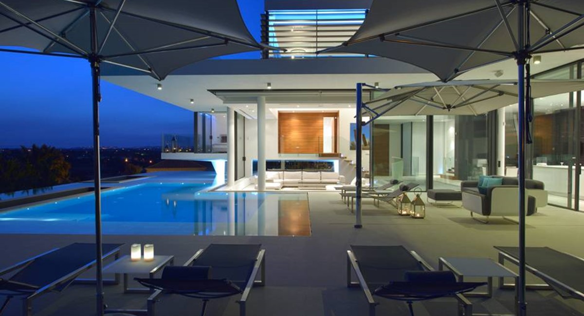 6 Bedroom Luxury Villa Vale Do Lobo Pool By Night