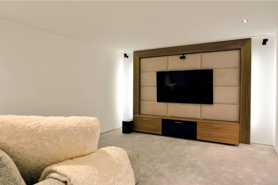 6 Bedroom Luxury Villa Vale Do Lobo Cinema Room