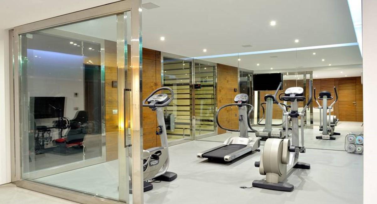 6 Bedroom Luxury Villa Vale Do Lobo Gymnasium