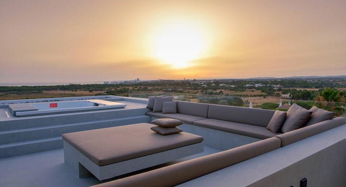 6 Bedroom Luxury Villa Vale Do Lobo Roof Terrace