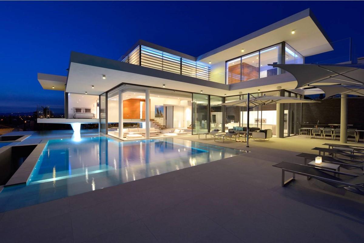 6 Bedroom Luxury Villa Vale Do Lobo Villa By Night